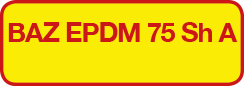 BAZ EPDM 75 Sh A