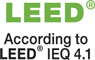 According to LEED IEQ 4.1
